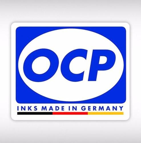 tinta alemana ocp pigmentada hp 7110 7612 7510 8100 4x100ml