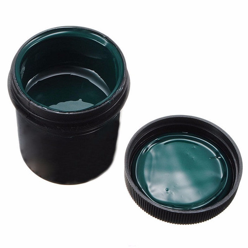 tinta antisolder verde para circuitos impresos 30 gramos