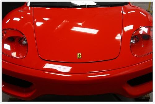 tinta automotiva vermelho rosso scuderia ferrari pu 900ml