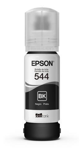 tinta botella epson t544 negro 65ml originales - walsystem
