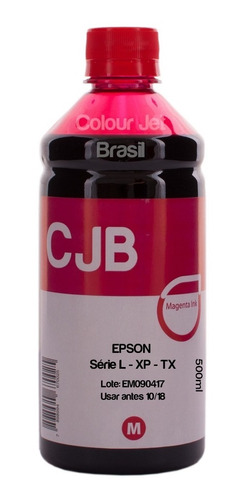 tinta bulk ink epson xp214/241/201/204/411/401 (4x500ml)