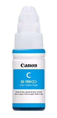 tinta canon gi-190m cyan p/g2100