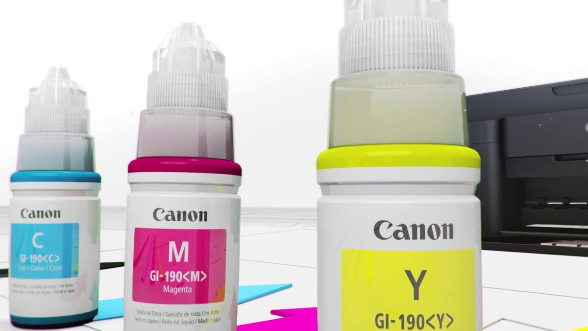 Tinta Canon Original Series G Kit X 4 Unid 50000 En Mercado Libre Yellow Cargando Zoom