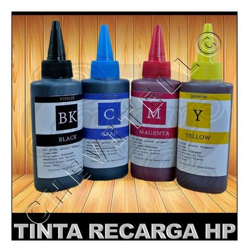 tinta compatible impresoras hp canon sistemas recarga 100ml