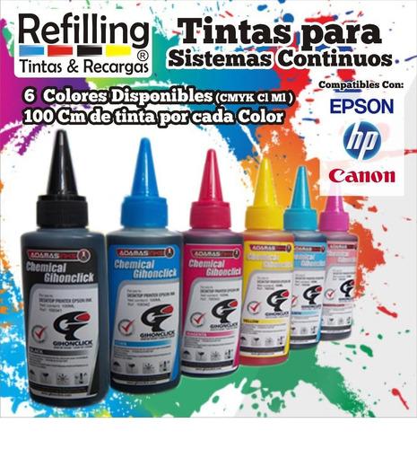 tinta compatible sistema de tinta continua 100cm tx xp wf