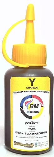 tinta corante 1 litro p/ epson bm chemical