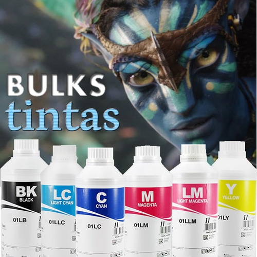 tinta corante inktec hp pro 8000 276 8100 8600 7110 500ml