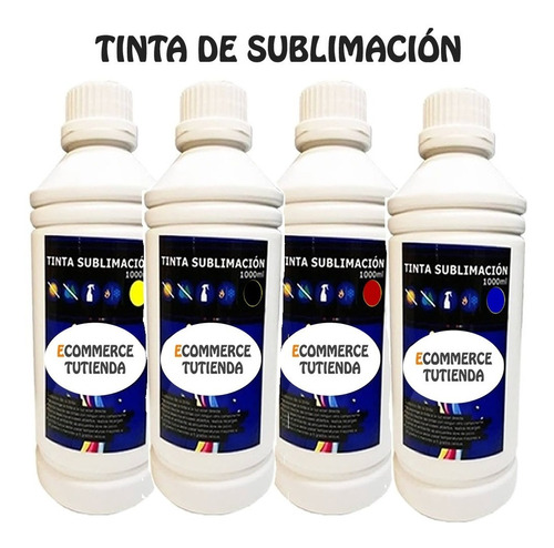 tinta de sublimación 1 litro importada para impresoras epson