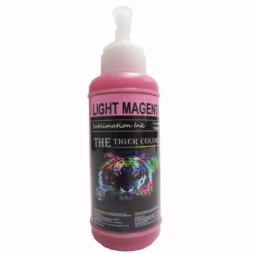 tinta de sublimación light magenta x 100 ml