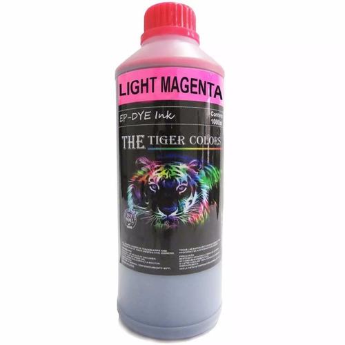 tinta dye light magenta epson, canon hp 1000ml