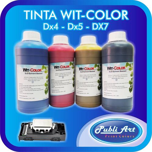 tinta eco solvente epson dx5