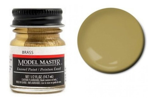 tinta enamel brass [f] 14,7ml model master 1782