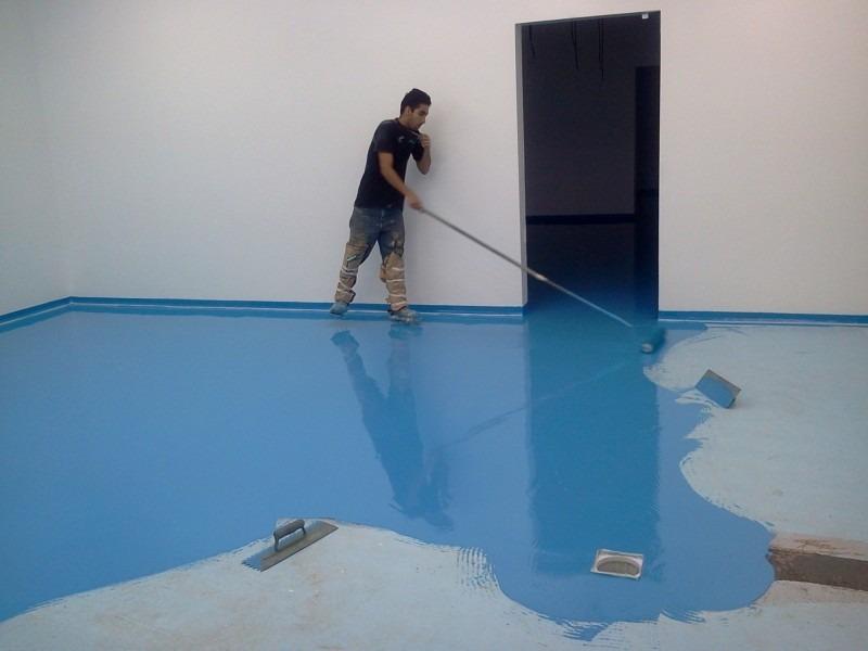 Tinta epoxi para piso 5 kilos faz ou 20 m2 o menor for Pintura para pisos colores