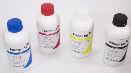 tinta epson 1/2 litro impresora l220 l355 l455 l555 l575