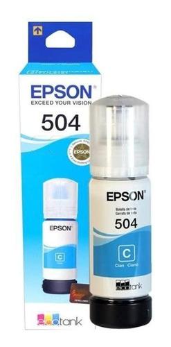 tinta epson 504 t504 l4150 l4160 l6191 l6161 combo original