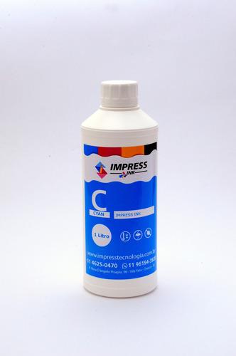 tinta epson corante l4150 l4160 l6171 t504 kit cor 4 litros