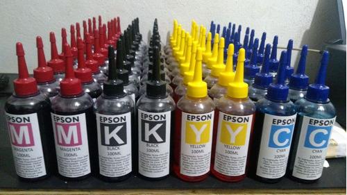 tinta epson l200  24x100ml