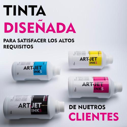 tinta epson l380 l395 l455 l475 art-jet® comercial 4 litros