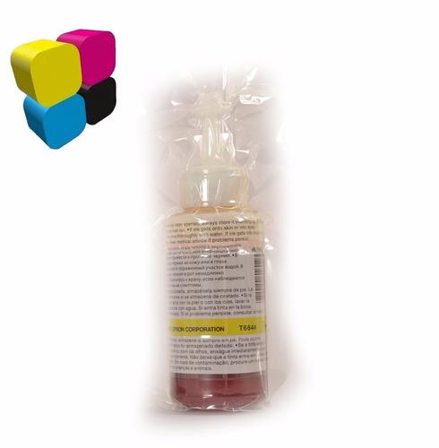 tinta epson original combo t664 l220 l210 l300 l350 l355 l37