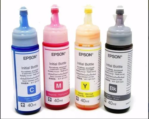 tinta epson original: l210 l220 l365 l375 l565 l575