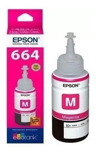 tinta epson original t664320 t664 l355 l380 l395 l495 l1300