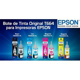 Tinta Epson Original X4 T664  L375/l365/l355/l380/l575 /l565