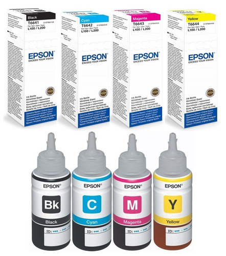 tinta epson original y alterna l210 l220 l375 l365 l555 l565