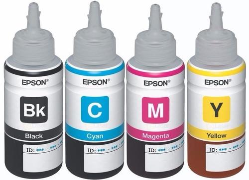 tinta epson original y generica l380 l220 l375 l395  l575