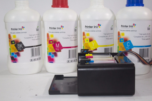 tinta epson printer ink x 10 litro todos los colores