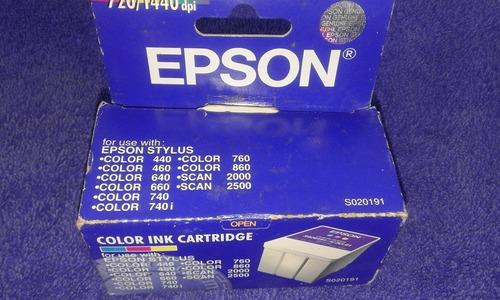 tinta epson s020191 original ! en vargas