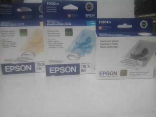 tinta epson stylo t0631/32/33/34 se venden por unidad
