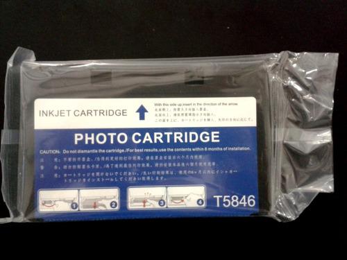 tinta epson t5846 compatible picturemate 200 225 260 290 300