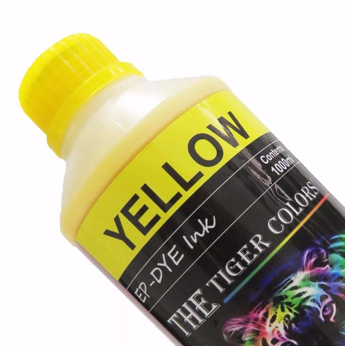 tinta formulada  yellow / amarillo epson x 1000 ml
