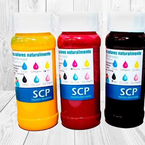 tinta fotográfica premium scp para epson
