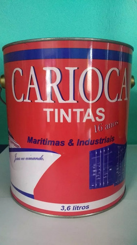 tinta fundo de barco anti-incrustante carioca vermelho
