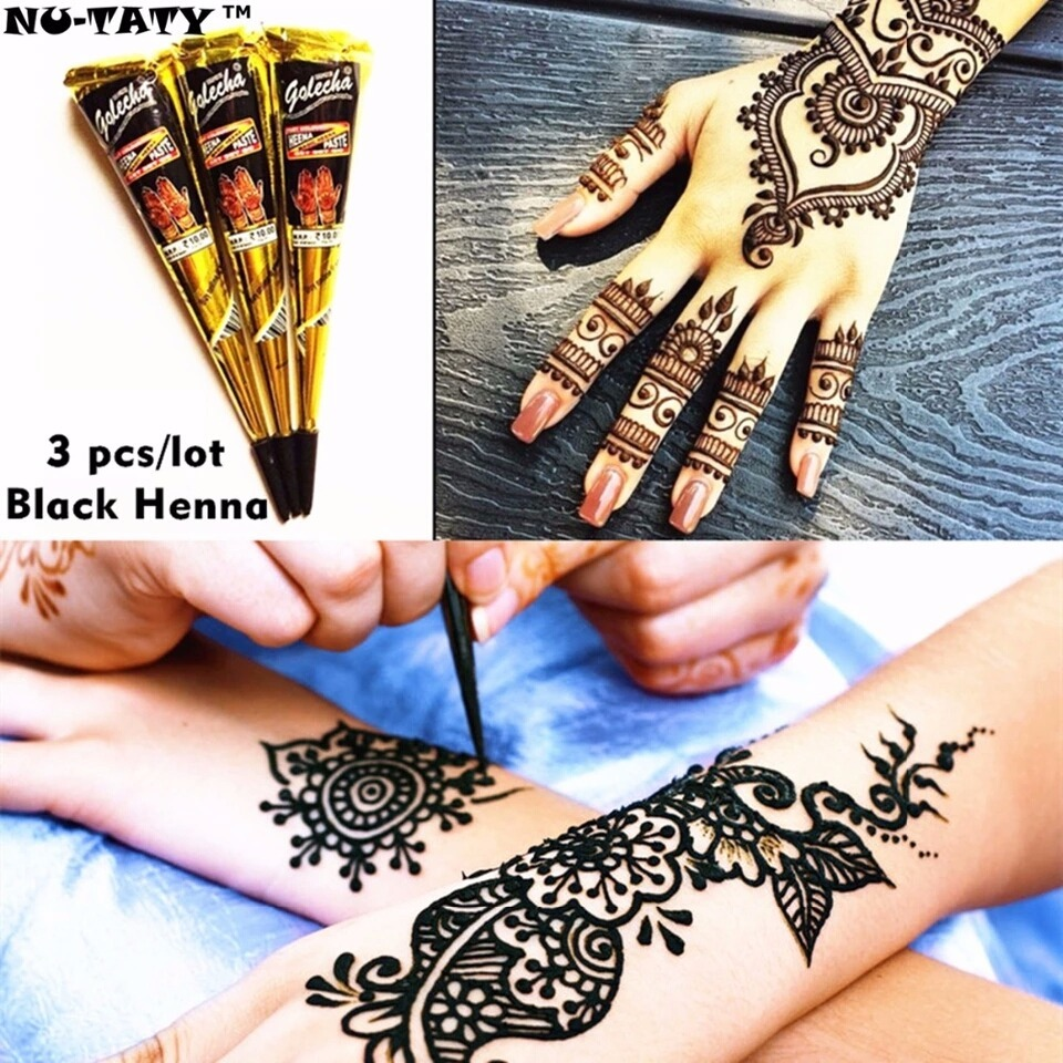 Tinta Henna Para Tatuajes Temporales S 2000 En Mercado Libre