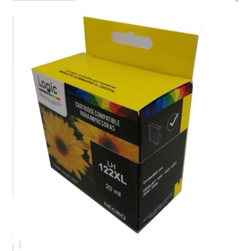 Tinta Hp 122xl Alter. Negro Logic 20ml Envio Gratis