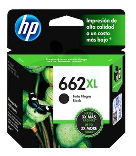 tinta hp  662 xl negra   (2x25 efectivo)