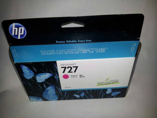 tinta hp 727   b3p24a 130ml gray  somos distribuidores
