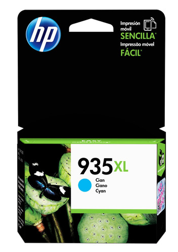 tinta hp c2p24al 935xl color cyan
