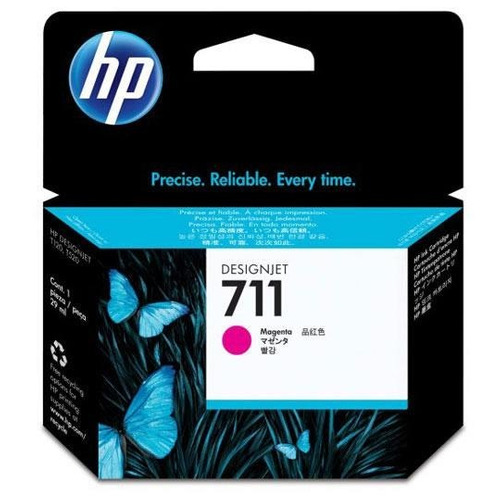 tinta hp cz131a 711 color magenta 29ml