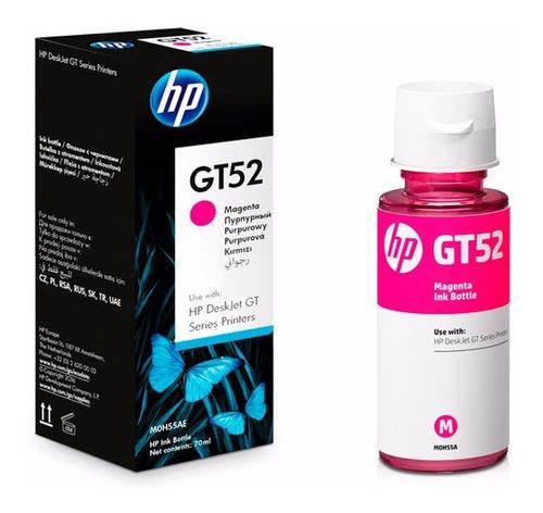 tinta hp gt52 magenta original m0h55al deskjet gt5820 8000p tienda oficial hp