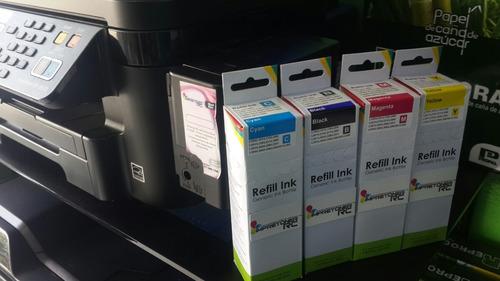 tinta impresora epson  l200 l210 l220 l355 l454 l555 l575 wf