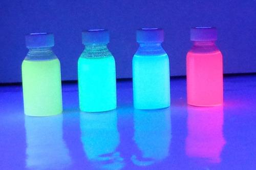 tinta invisible base solvente 4 colores rm4