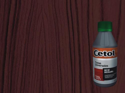 tinta madera cetol universal 240 varios colores - sagitario