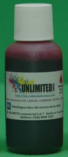 tinta negra tintas 60 ml bk unlimited ink tinta compatible