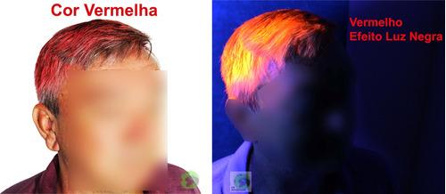 tinta neon brilha cabelo festa 15 anos aniversario debutante