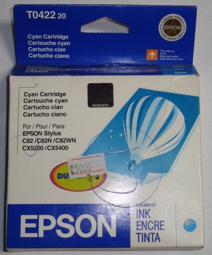 tinta orig epson stylus cian cx5400 pc cyan impresora