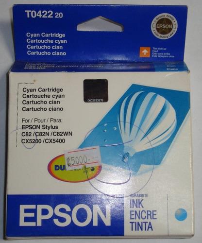 tinta orig epson stylus cian t0424 pc cyan impresora