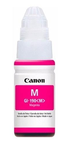 tinta original canon g2100 g3100 g4100 gi190bk 190